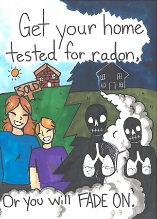 2018 Illinois radon poster winner