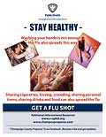 Teen - stay healthy poster